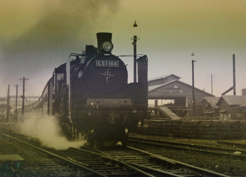 C57(コイデカメラにてカラー復元したもの):昭和39年当時の空気が感じられますか?
