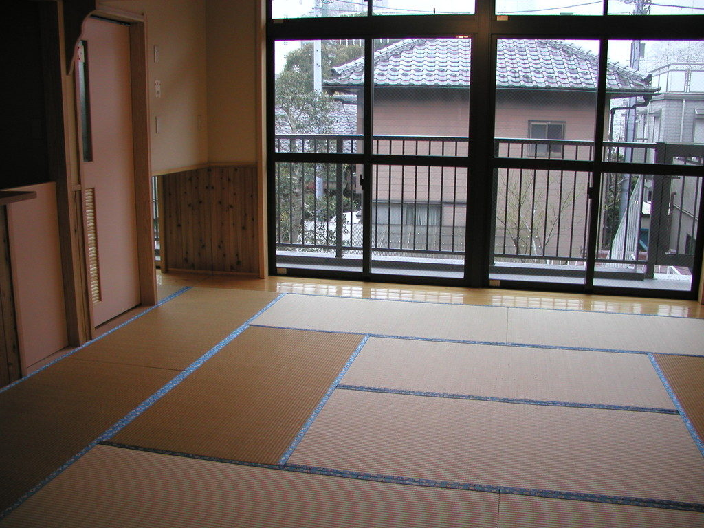 2階は赤ちゃん用の畳の部屋になっています